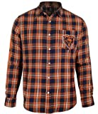 Chicago Bears Wordmark Basic Flannel Shirt Extra Large