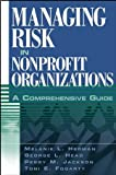 img - for Managing Risk in Nonprofit Organizations: A Comprehensive Guide book / textbook / text book