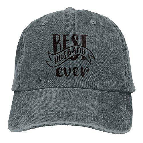 - Best Husband Ever Unisex Denim Baseball Cap Adjustable Strap Low Profile Plain Hats Outdoor Casquette Adjustable Sunbonnet RoyalBlue Asphalt