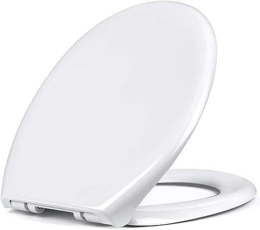 Tapa taza asiento inodoro WC cierre suave elegie modelo incluye kit fijación