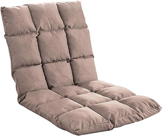 Chaise au Sol Coussin de Sol avec Lazy Sofa Dossier Amovible