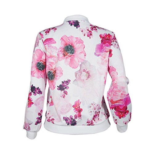 Top Pull Femmes ESAILQ Manteau Mode Outwe Veste Sweat Pull shirt Rose Manches Longues Zipper 1nZqapw