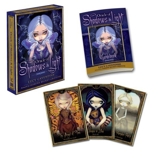 Oracle of Shadows and Light; Book and Card Set, 45 full colour cards and guidebook by Lucy Cavendish (2012-05-17)
