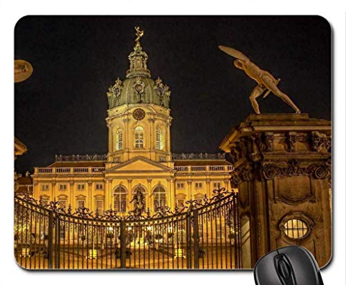 BGLKCS Wonderful gate to charlottenburg Castle in Berlin Mouse Pad/Mouse Mat, Mousepad