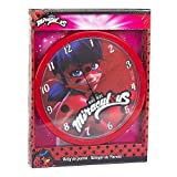 Miraculous Lady Bug Round Wall Clock