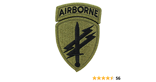 theater made on multi-camo w//brown Civil Affairs /& Psyops Cmd Army patch