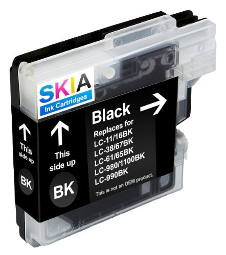 Skia Ink Cartridges ¨ Black Single Pack Compatible with B...