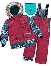 Deux par Deux Boys' 2-Piece Snowsuit Nevada Mountain Rescue, Sizes 4-10