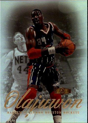 2000 Fleer - Skybox - Hakeem Olajuwon - Rockets - Card 17