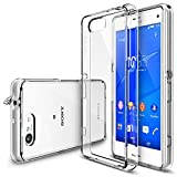 Xperia Z3 Compact Case - Ringke FUSION Case [Free HD Film/Dust&Drop Protection][CRYSTAL VIEW] Shock Absorption Bumper Premium Hard Case for Sony Xperia Z3 Compact (Not for Z3 / Z3v / Z3 Dual) - Eco/DIY Package