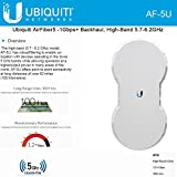 Ubiquiti AF-5U airFiber 5GHz Wireless PTP 1.0+ Gbps (Worldwide Version) FOR EXPORT ONLY!