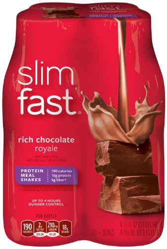 SlimFast Chocolate Royale Ready Shakes product image
