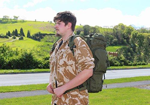 Mil-Tec Trekking Rucksack Commando, oliv