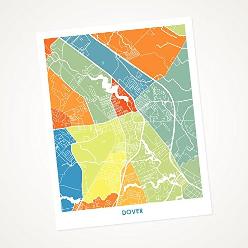 Amazon.com: Dover, DE Art Map Print. Choose your Colors and ... on dover street map, dover nc map, i-95 delaware map, dover uk map, dover beach map, dover road map, dover vt map, dover ny map, dover fl map, dover delaware, delaware bay map, city of dover map, dover cruise terminal map, dover tn map, dover nh map, dover race track map, smyrna delaware street map, dover ohio map, dover nj map, dover mn map,