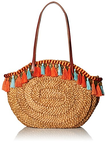 Sam Edelman Rachael Tote Bag, Coral Multi by Sam Edelman