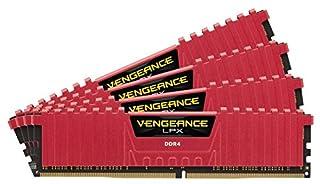Corsair Vengeance LPX 32GB (4 x 8GB) 3200 (PC4-25600) C14 for Intel 100 Series, Red 32 DDR4 2400 MT/S CMK32GX4M4B3200C14R (B01EAWA760) | Amazon price tracker / tracking, Amazon price history charts, Amazon price watches, Amazon price drop alerts