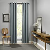 Cheap Eclipse Palisade Grommet Single Window Curtain Panel, 52″ x 84″, Mineral