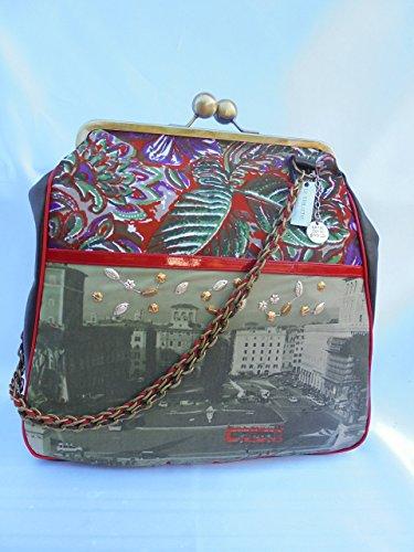 Rome love brass clasp bag - Clasp Unusual