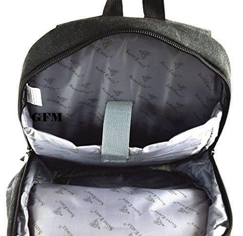 Para Bebé Clásico El College Green Lienzo Viajar Del De O Estilo Accesorios Casual Boda X15 Backpack Bandolera Army Oficina Bolso School Uni 95hr wXYTf