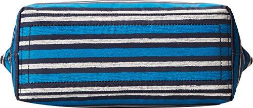 Cole Haan Women's Parker Nylon Zip Top Shopper Horizon Snake Print Tote