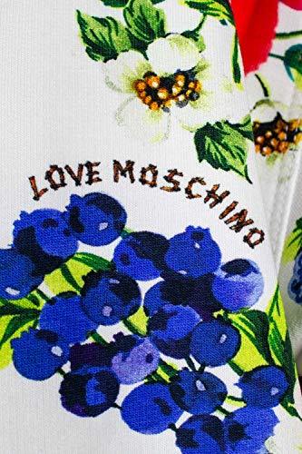 Love Love Moschino Moschino Mujer Blanco Mujer Sudaderas H0v1wHq