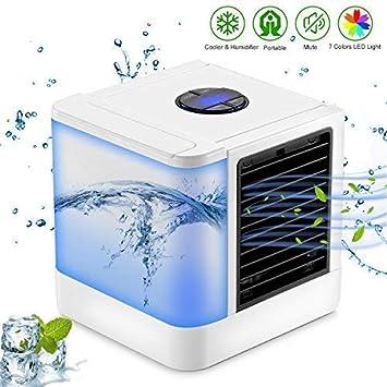 ACZZ Mini acondicionador de aire, fuente de alimentación USB 3 en ...