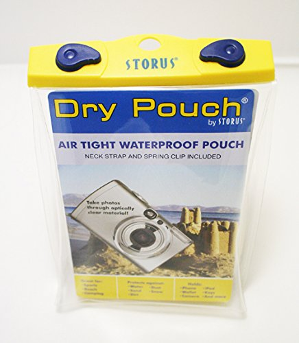 Storus Dry Pouch-Waterproof Storage Case/Pouch-Camera Size-Measures 6
