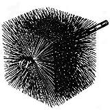 Square Wire Chimney Brush 1/4'' pt