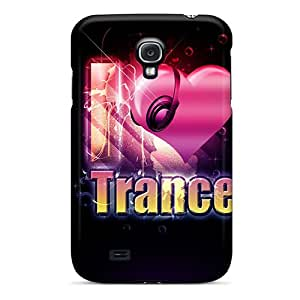 Hot Tpye I Love You Free Trance Case Cover For Galaxy S4