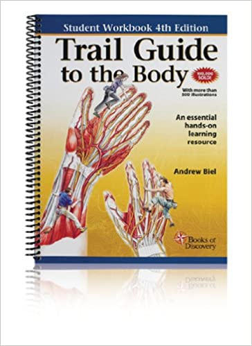 Trail guide to the body student workbook 9780982663417 medicine trail guide to the body student workbook 4th edition fandeluxe Image collections