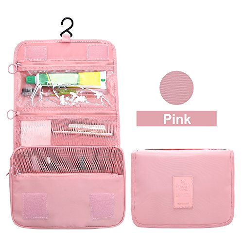 Hanging Cosmetic Bag Travel Toiletry Bag Portable Waterproof Makeup Pouch Three Colors Options