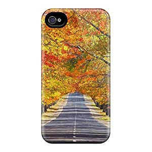 ConnieJCole FcISyPp211VEzYE Case For Iphone 4/4s With Nice Memorial Avenue In Autumn Appearance