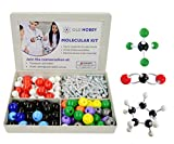 Organic Chemistry Model Kit (239 Pieces) - Molecular Model Student or Teacher Pack with Atoms, Bonds and Instructional Guide: more info