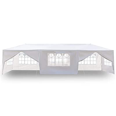 Longlaster 3 x 9m Eight Sides Two Doors Waterproof Tent with Spiral Tubes : Garden & Outdoor