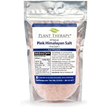Plant Therapy Himalayan Pink Salt. Fine Grain, Rich in Nutrients and Minerals To Improve Your Health. 1 pound (454 grams).