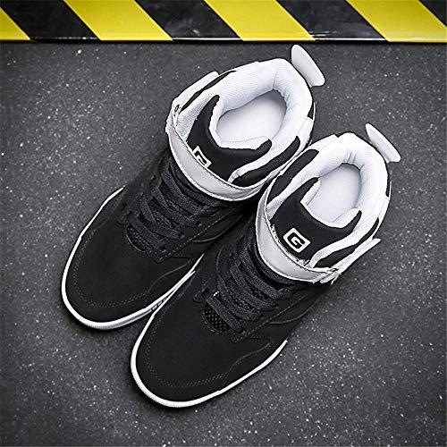 Casual 44 g Sneaker Top Scarpe da Scarpe 39 High FZUU Schwarz Uomo qAYPS