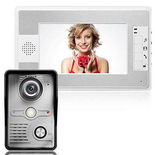 Mountainone 7 Inch Video Door Phone Doorbell Intercom Kit 1-camera 1-monitor Night Vision Video Intercom System