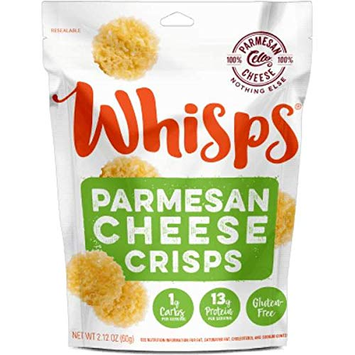 Cello Whisps Cheese Crisps - Parmesan (2.12oz) (1-Pack)