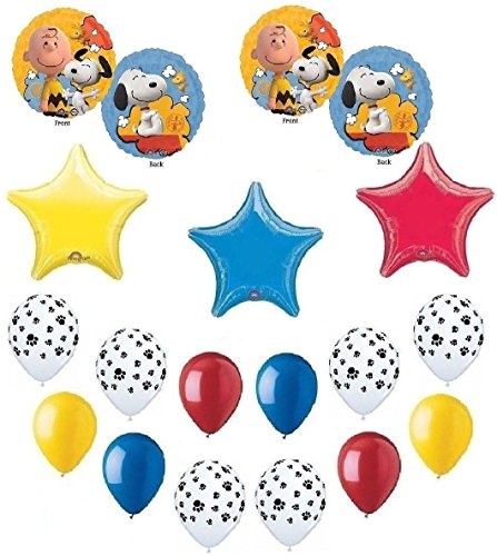 SNOOPY Woodstock PEANUTS Colorful BALLOONS product image