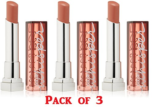 Maybelline New York Color Whisper by ColorSensational Lipcolor, 20 Mocha Muse 3 pack