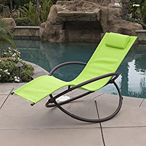 Belleze Folding Orbital Zero Gravity Recliner - Green
