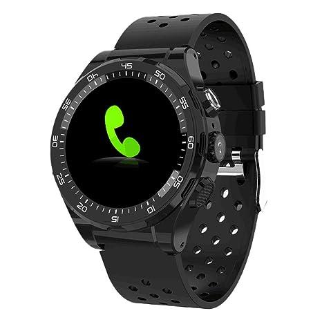 Globalqi Reloj Inteligente Bluetooth Reloj Inteligente 4G M15 Android 6.0 Tarjeta SIM de 1GB + 8GB