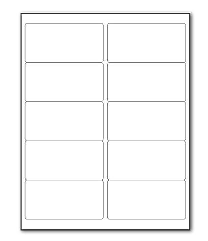 CCBETTER - Etiquetas adhesivas permanentes para impresoras láser y ...