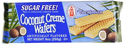 - Voortman Coconut Creme Wafers Sugar Free