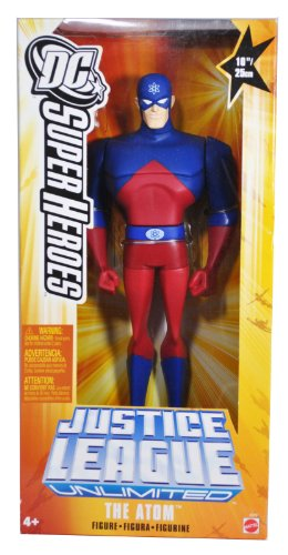 "THE ATOM Justice League Unlimited 10"" Figure DC Animated Mattel JLU NEW SEALED"