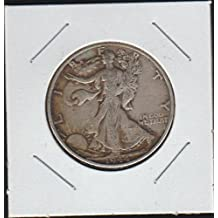 1944 S Liberty Walking (1916-1947) Half Dollar Choice Extremely Fine