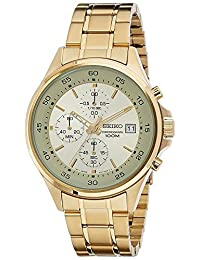 Seiko Men's SKS482 Gold Stainless-Steel Quartz Watch