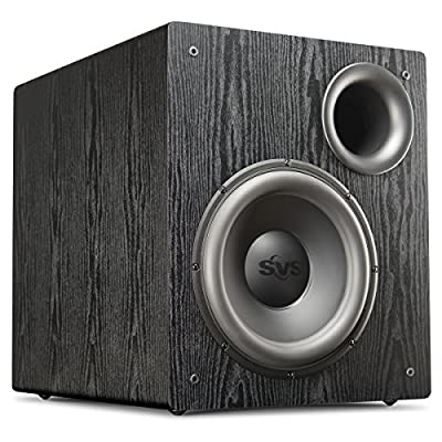 SVS PB12-NSD Black Ash 12-inch 400 Watt Powered Subwoofer