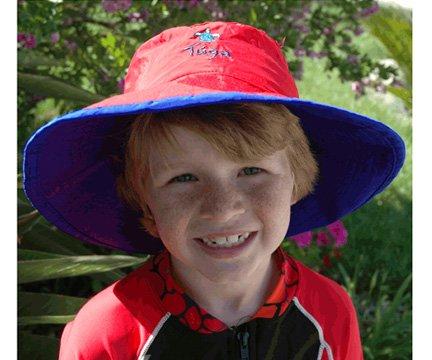 Tuga Boys Reversible Bucket Hats - UPF 50+ Sun Protection Sun Hats