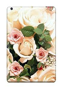 Best Ipad Mini 3 Bunch Of Roses Print High Quality Tpu Gel Frame Case Cover 5031091K19854145